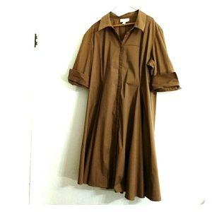 Cold Creek Khaki Dress
